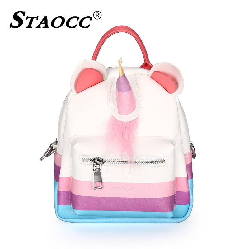 Shoulder, Leather, Backpack, Cartoon, Mochila, Female