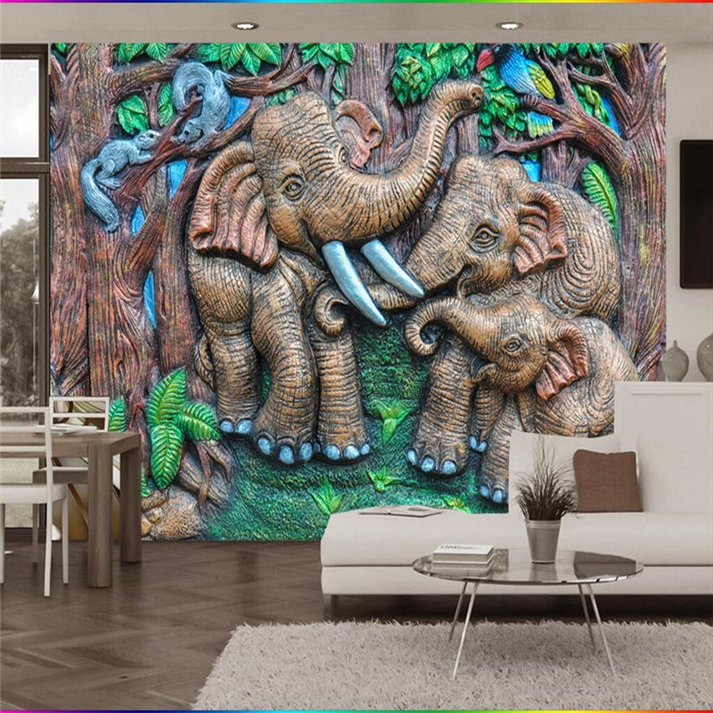 Online Shop Large Mural Custom Size Background Photography Embossing ...