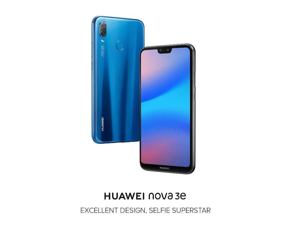 HTB1QzjehljTBKNjSZFuq6z0HFXaE - Huawei P20 Lite Nova 3E Global Firmware 4G LTE Mobilephone Face ID 5.84