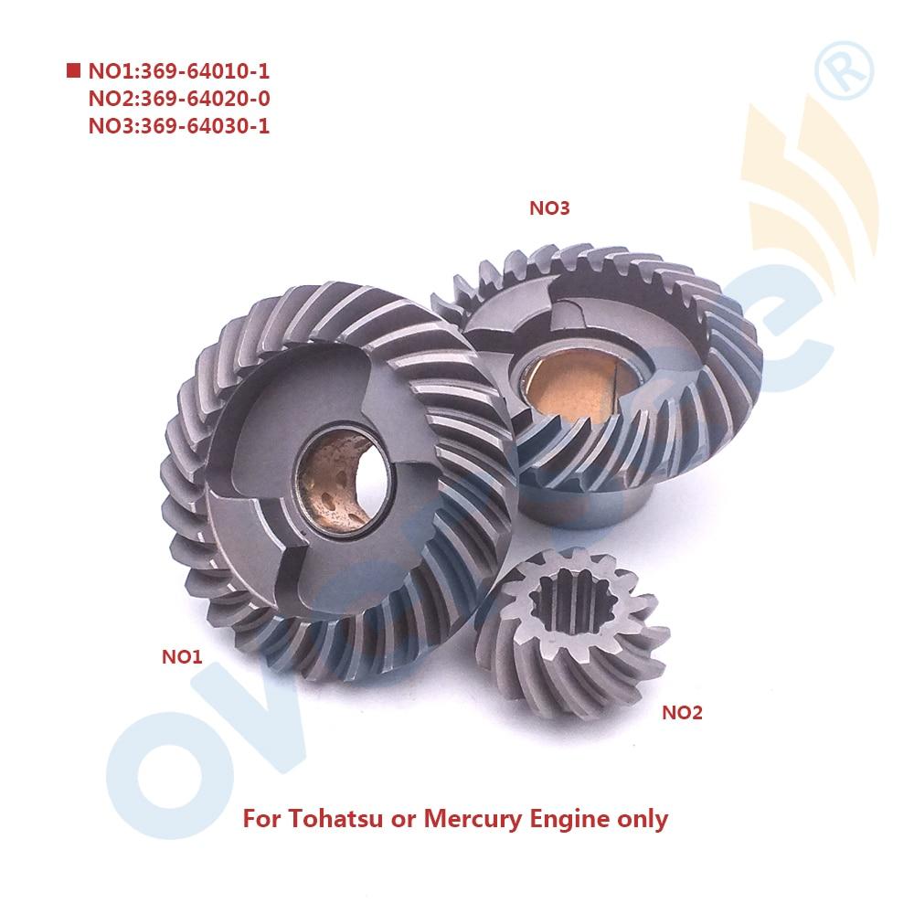 Для Тохатсу Ниссан мотор шестерни 2 2.5 3.5 л. с. 4 л. с. 5 л. с. 6лошадиная сила 369-64020 369-64010 369-64030 для набора