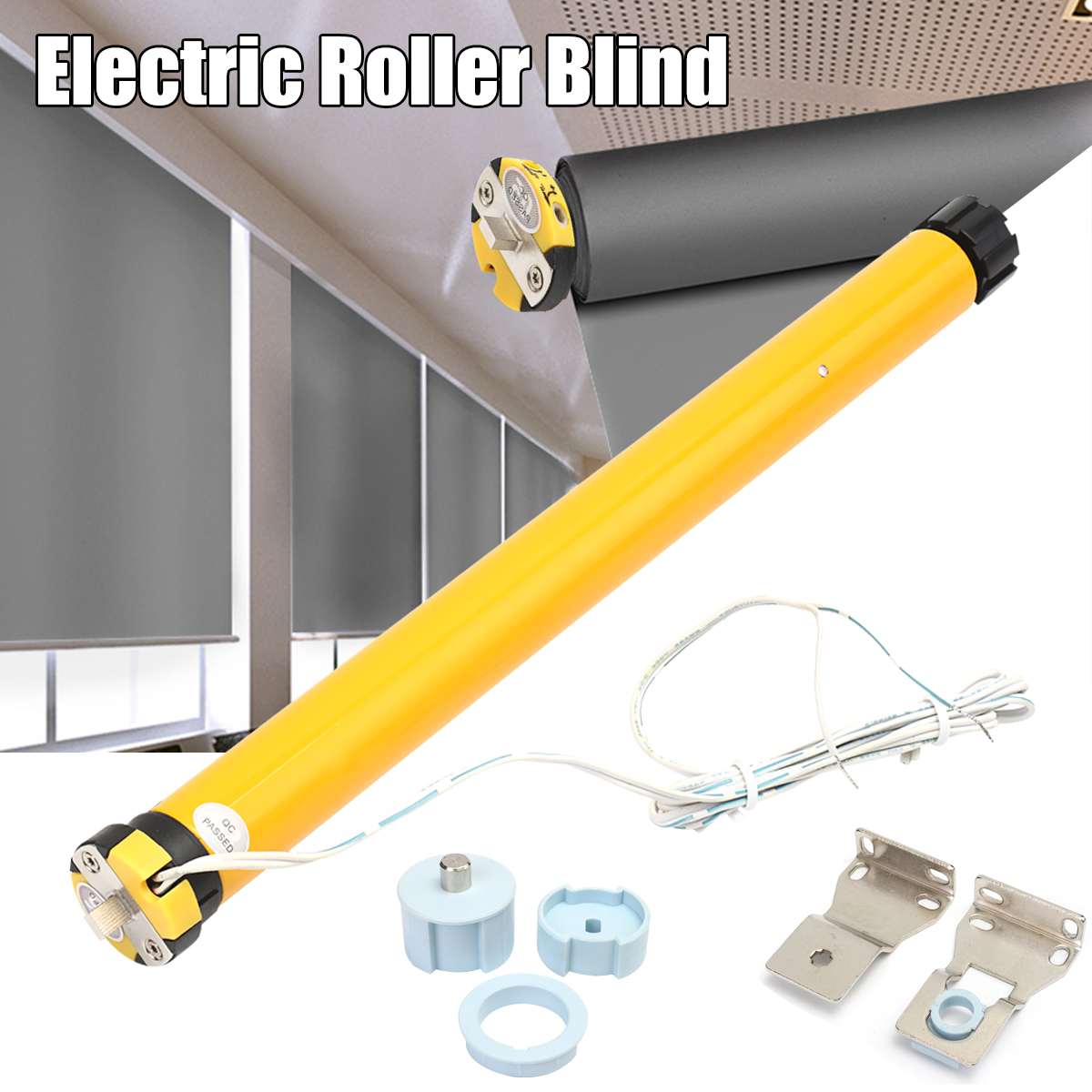 DC <font><b>12V</b></font> 11W <font><b>25mm</b></font> DIY 30RPM Electric Roller Blind / Shade Tubular <font><b>Motor</b></font> Kit Set High Quality image