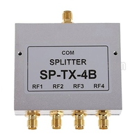 New 4 Way SMA Power Splitter 1500mhz 8000MHz SMA Female 8Ghz Power Divider Signal Cable Splitter