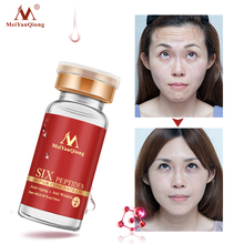 Six Peptides Repair Essence Anti-Aging Anti Wrinkle Face Hyaluronic Acid Serum Lifting Firming Skin Care Concentrate