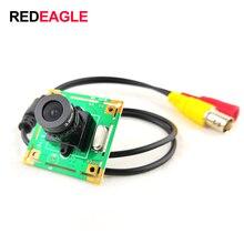 Цветная аналоговая камера RDEAGLE 700TVL CMOS, мини камера видеонаблюдения, модуль камеры PCB с объективом 3,6 мм