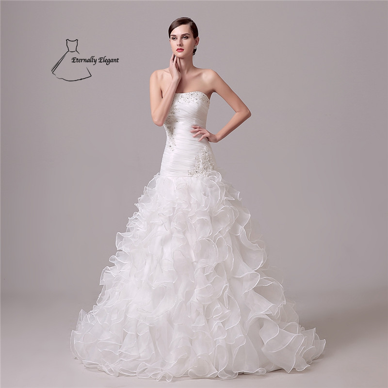 Fantastisch Trompete Meerjungfrau Kleider Hochzeit Bilder ...