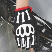 SkeletonCycling Gloves Half Finger Breathable