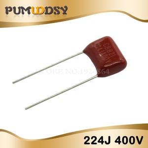 20 шт 400V224J 400V 0,22 UF 220NF 400V 224J 224 CBB P10 полипропиленовый пленочный конденсатор