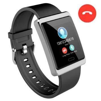 DM58 Smart Wristband Hjärtfrekvens Blodtrycksklocka Vattentät Smart - Smart electronics