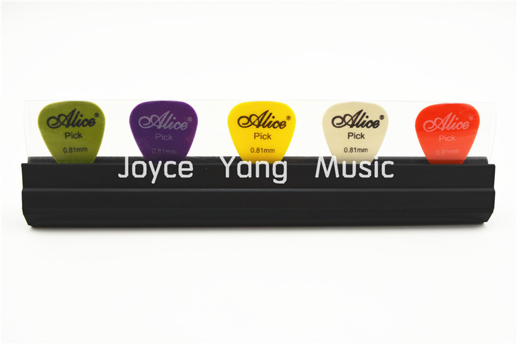אליס A010D מיקרופון מעמד מיקרופון מחזיק מעמד מבחר מחזיקי גומי + חינם 5pcs מבחר גיטרה Plectrums משלוח חינם