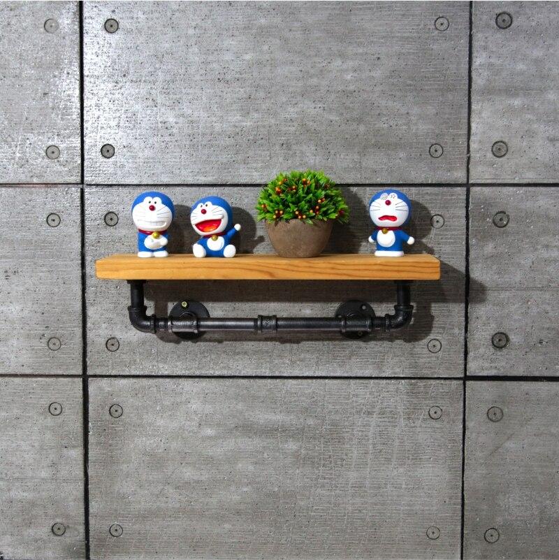 1PC 40*15cm Metal & Wood Bathroom Shelves Storage Holders Racks for ...