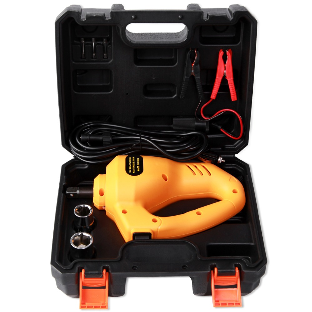 Car Cordless Electric Wrench Impact Socket Wrench 350N.M 12V Auto Tyre Change Tools Car Jack Automotive Repair Tool