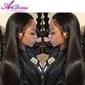 AliDoremi Волос Бразильский прямо девы волос 4 шт./лот 100% необработанные прямой человеческих волос weave, Бразильский прямых волос, плетение