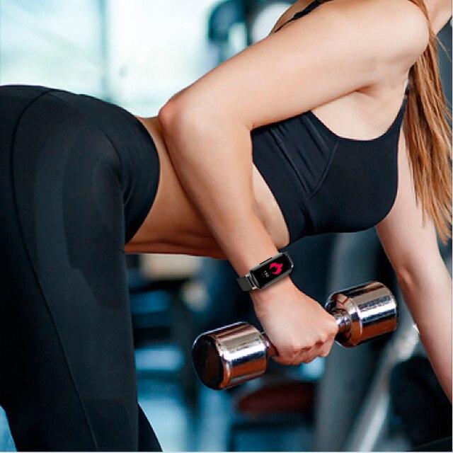 T89 TWS Smart Binaural Bluetooth Headphones Fitness Bracelet Heart Rate Monitor Smart Wristband 3