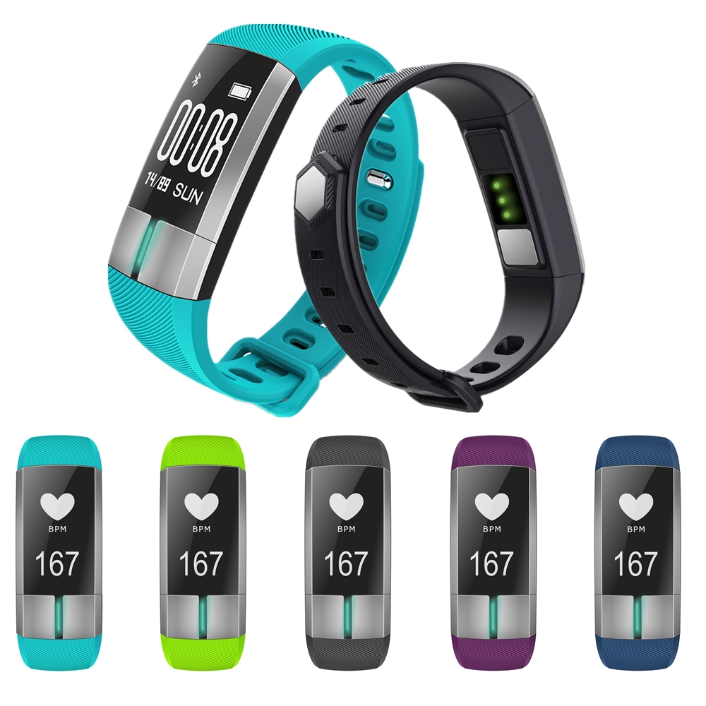 ZUCOOR Smart Bracelet Wristband Pedometer RB47 Fitness Pulse Monitor Blood Pressure Electronics ECG PPG Band Bracelets Pulseira smart band bracelet health wristband s3 pedometer blood pressure wearable devices pulse monitor electronics bracelets for men