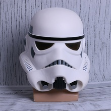 Új csillag háborúk bukósisak Stormtrooper maszk viselhető Cosplay sisak maszkok teljes arc PVC felnőtt párt Prop
