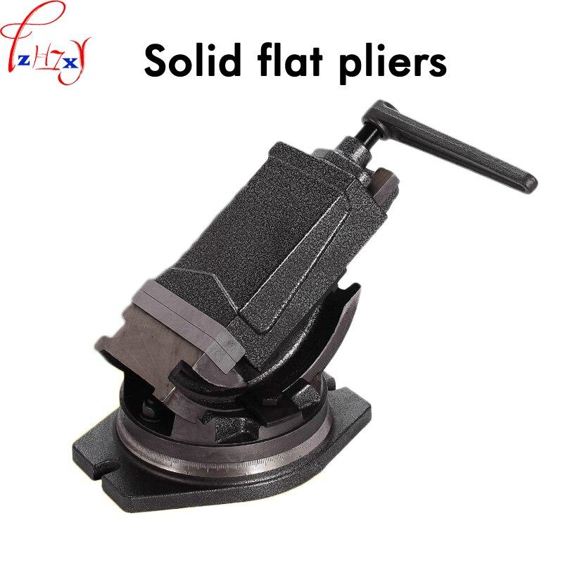 Pinces plates pleines à Angle Inclinable 4 pouces étau conique de précision rotatif à 360 degrés pinces plates de haute qualité 1 pc