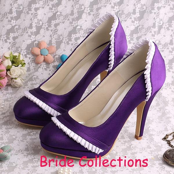 Popular Wedding Shoes Purple-Buy Cheap Wedding Shoes Purple lots ...