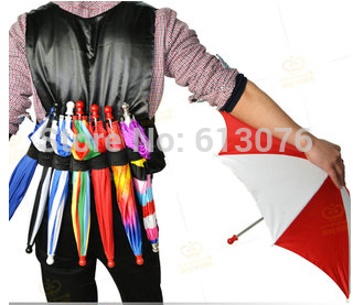 Parasol Umbrella Production Vest  (Three Size Available) - Magic Tricks,Stage,Close Up,Gimmick,Props,Accessories,Appearing