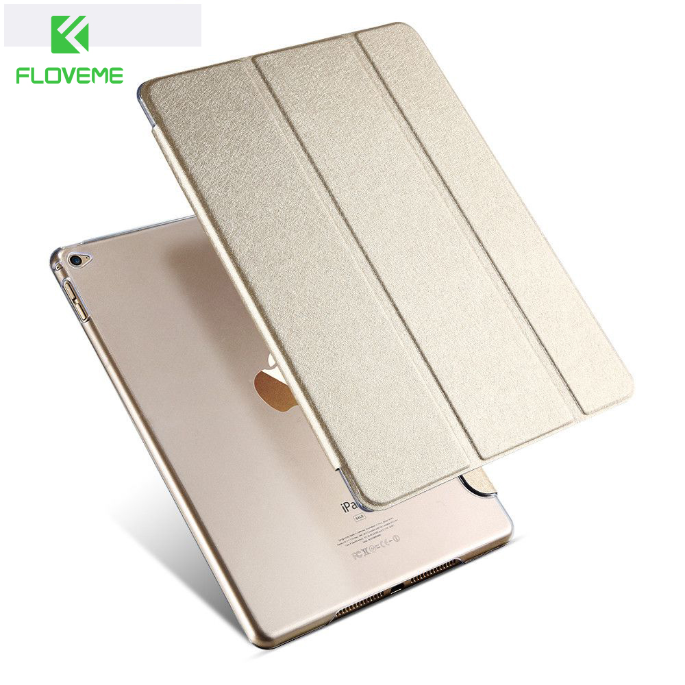 FLOVEME For ipad 6 Transparent Clear Leather Cover for ipad Air 2 Tablets Accessories Luxury Case