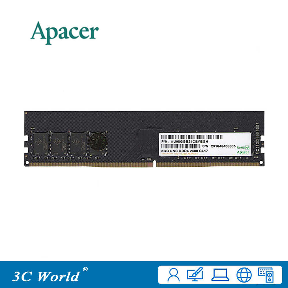 Detail Feedback Questions about Apacer DDR4 RAM 16GB 2400MHz DIMM