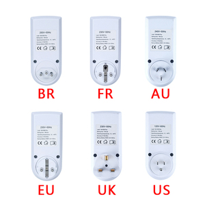 Image 3 - جهاز توقيت رقمي إلكتروني 24 ساعة دوري الاتحاد الأوروبي المملكة المتحدة الاتحاد الافريقي الولايات المتحدة BR FR التوصيل المطبخ الموقت منفذ برمجة توقيت المقبس 220 فولت