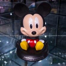 New Fashion Red Bow Minnie Doll Mousse Cartoon Bobble Head Cute Creative Automotive Car Ornament Interior
