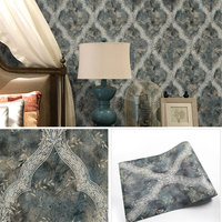 40x320CM PVC Self Adhesive Waterproof Wallpaper Door Wardrobe Room Wall Papers Hot Sale