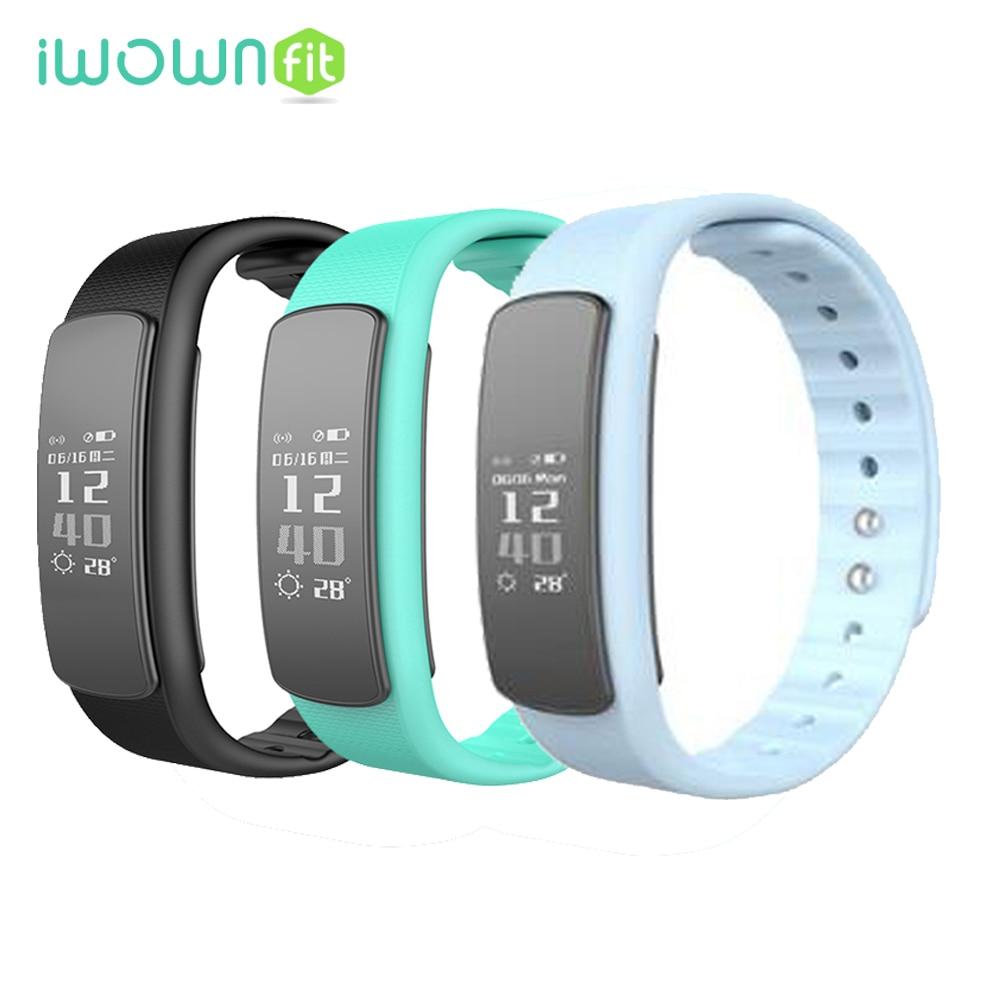 Original i6 HR Sports Smart Bracelet Wristband Fitness Tracker Android Bracelet Smartband Heart rate Monitor Call