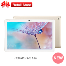 "Huawei M5 lite MediaPad 10.1"" 1080p  Display Kirin 659 Android 8.0 Octa Core 4GB RAM 64GB ROM WIFI LTE 8MP Dual Camera Type-C"