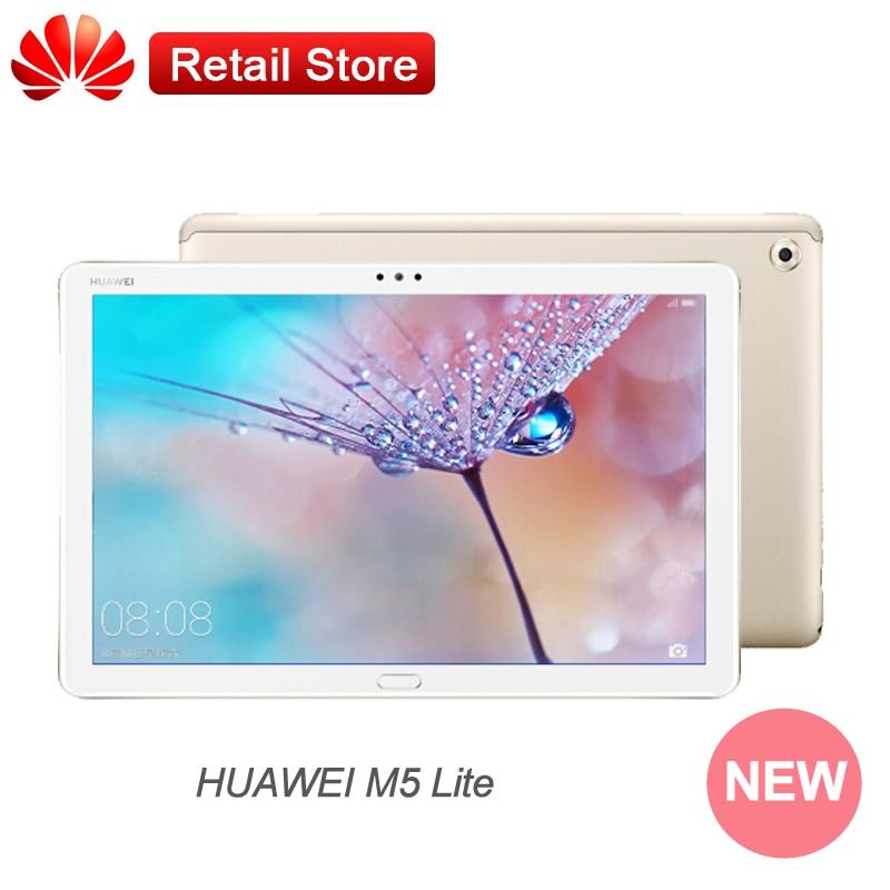 """グローバル Rom Huawei 社 M5 lite MediaPad 10.1 """"1080 1080p ディスプレイキリン 659 アンドロイド 8.0 オクタコア WIFI LTE 8MP デュアルカメラタイプ C 4 ギガバイト 64 ギガバイト  グループ上の パソコン & オフィス からの Android タブレット の中 1"""