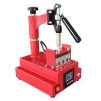 Multi function digital hot press DIY pen printing Three station hot brush machine220V/110V 600W