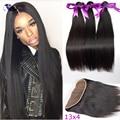 Eurasian Virgin Hair With Frontal Eurasian Hair Bundles With Frontal  Eurasian Straight Hair With Closure
