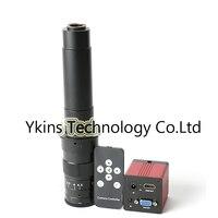 1080P 1/2.7 60F/S HDMI VGA Digital Industry Video Microscope Camera IR Remote control +130X /180X /300X C MOUNT Camera Lens