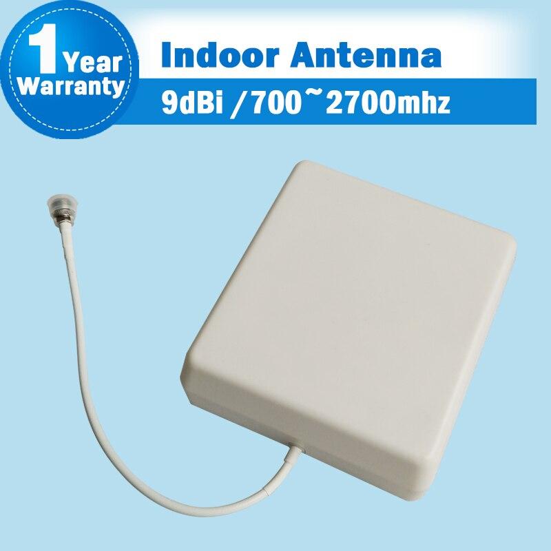 3g 2g 700 mhz à 2700 mhz GSM DCS CDMA WCDMA UMTS Réseau Intérieur Panneau Antenne Antenne Interne pour Mobile Téléphone Siganl Booster 28
