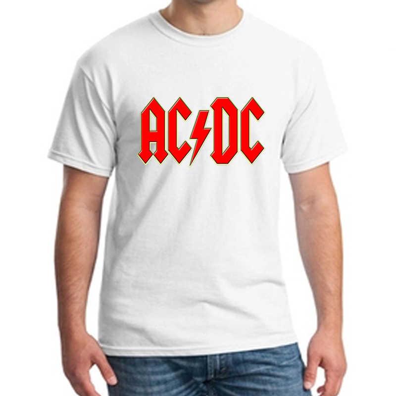 Nouvelle mode Camisetas AC/DC métal Lourd T-shirt Hommes Impression t-shirt décontracté T-shirt O Cou coton 100% pour hommes Manches Courtes NN