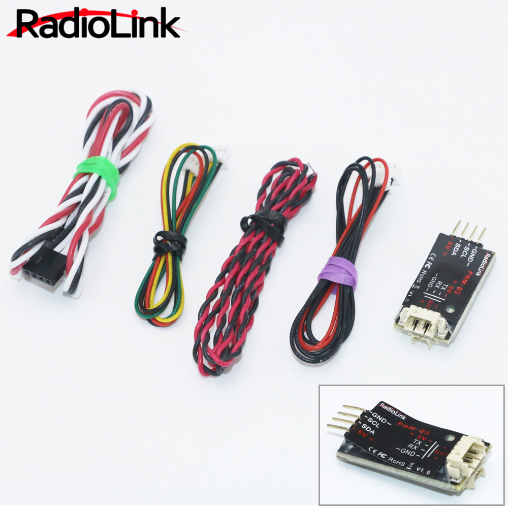 цена 1pcs RadioLink OSD Information Telemetry Module PRM-03 for Radiolink AT9 AT9S AT10 AT10II Transmitter