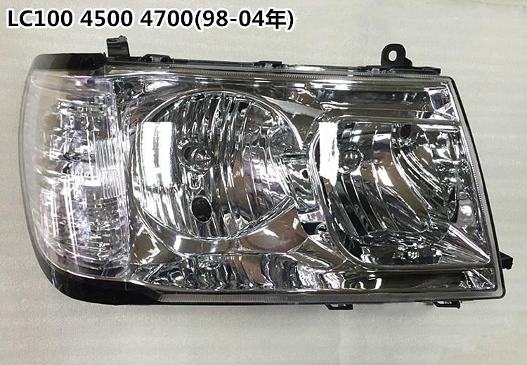 eOsuns headlight assembly for Toyota Land Cruiser LC100 4500 4700 1998-2005 ,2pcs