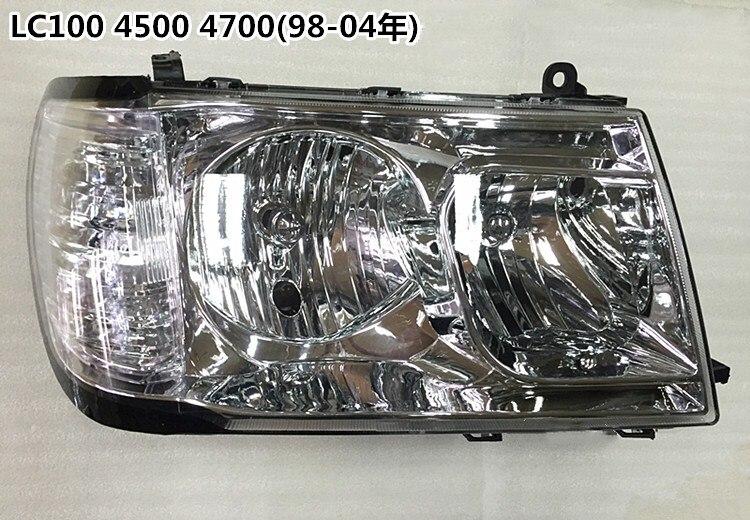 eOsuns headlight assembly for Toyota Land Cruiser LC100 4500 4700 1998-2005 toyota land cruiser 80 81 70 73 75 77 модели 1990 1998 гг выпуска с дизельными двигателями