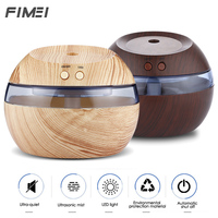 Fimei 290ml USB Ultrasonic Air Humidifier Essential Oils For Aromatherapy Diffusers LED Night Mist Maker For