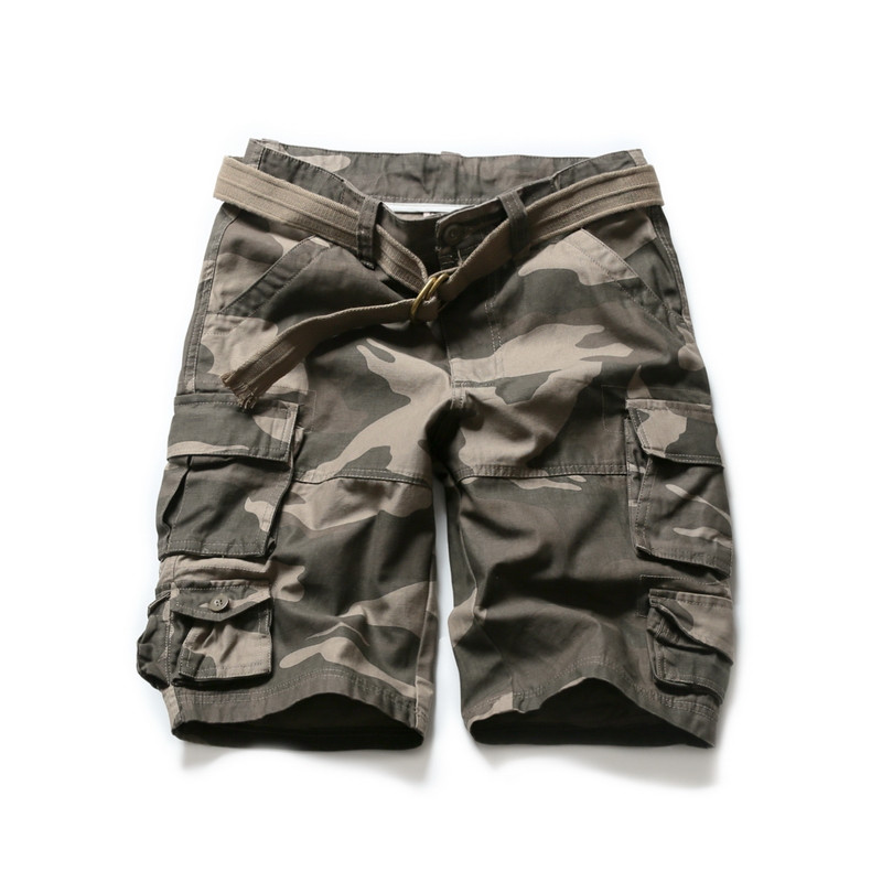 KCAE 2017 New Fashion Style Summer Men's Tactical Military Shorts Cargo Casual Beach Jeans Summer Men Short Trousers Shorts