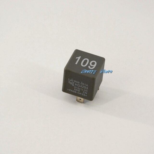 oem belangrijkste voeding relais 109 4 pin 1j0 906 381 een fit vw jetta bora golf mk4 beetle. Black Bedroom Furniture Sets. Home Design Ideas