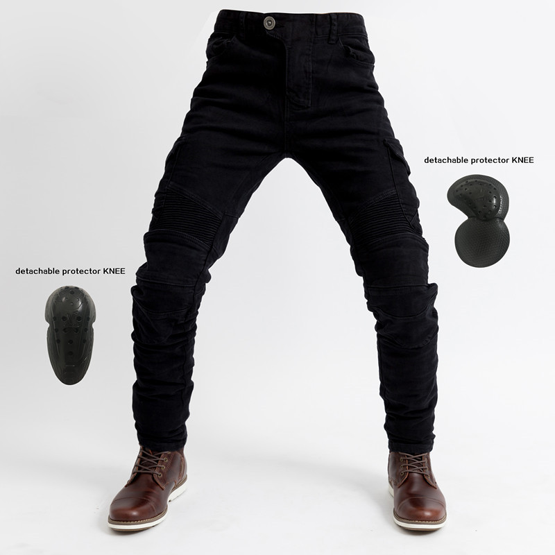 Motorcycle jeans Komine Pantalones Motocicleta Hombre Featherbed Jeans Standard Version Car Ride Trousers pant Summer Riding
