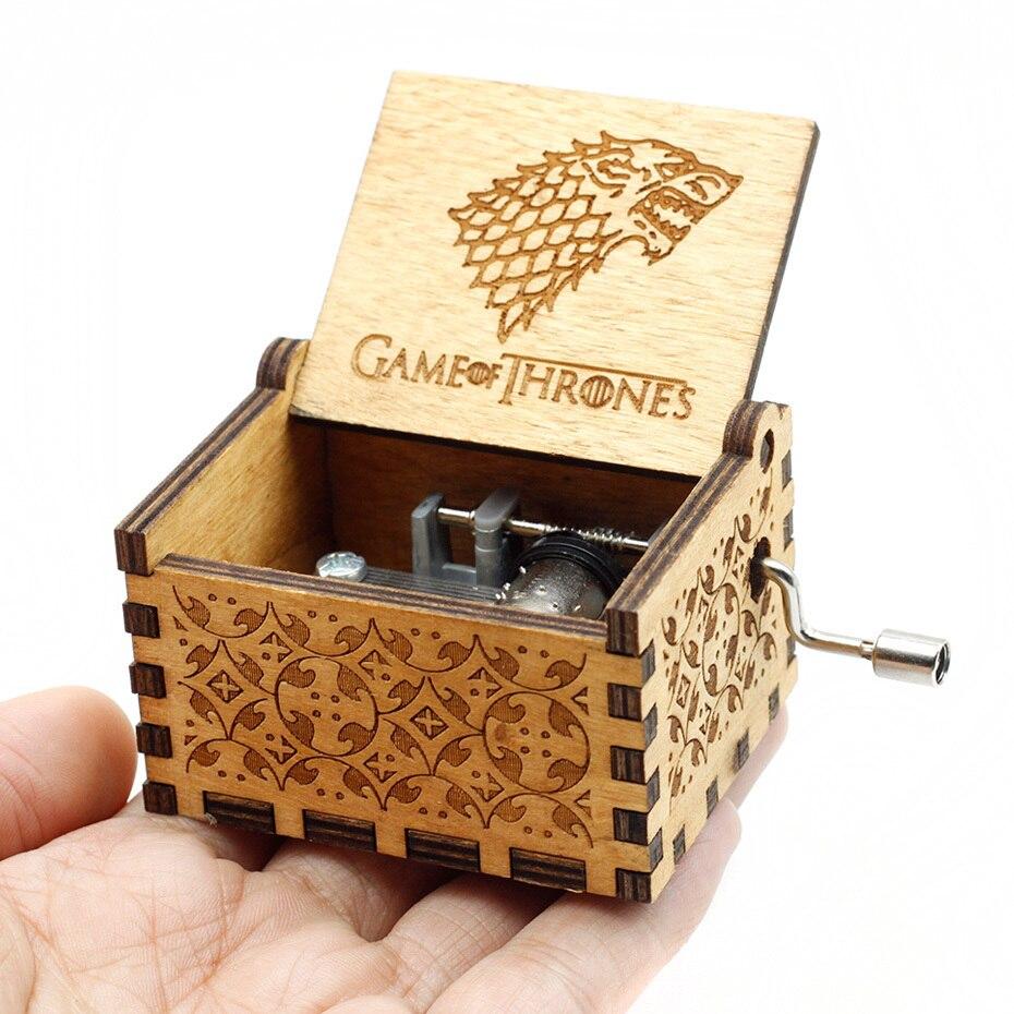 Античный резной ручной коленчатый Деревянный музыкальная шкатулка легенда о Зельде замок в небо пусть Le Go День рождения Рождественский подарок