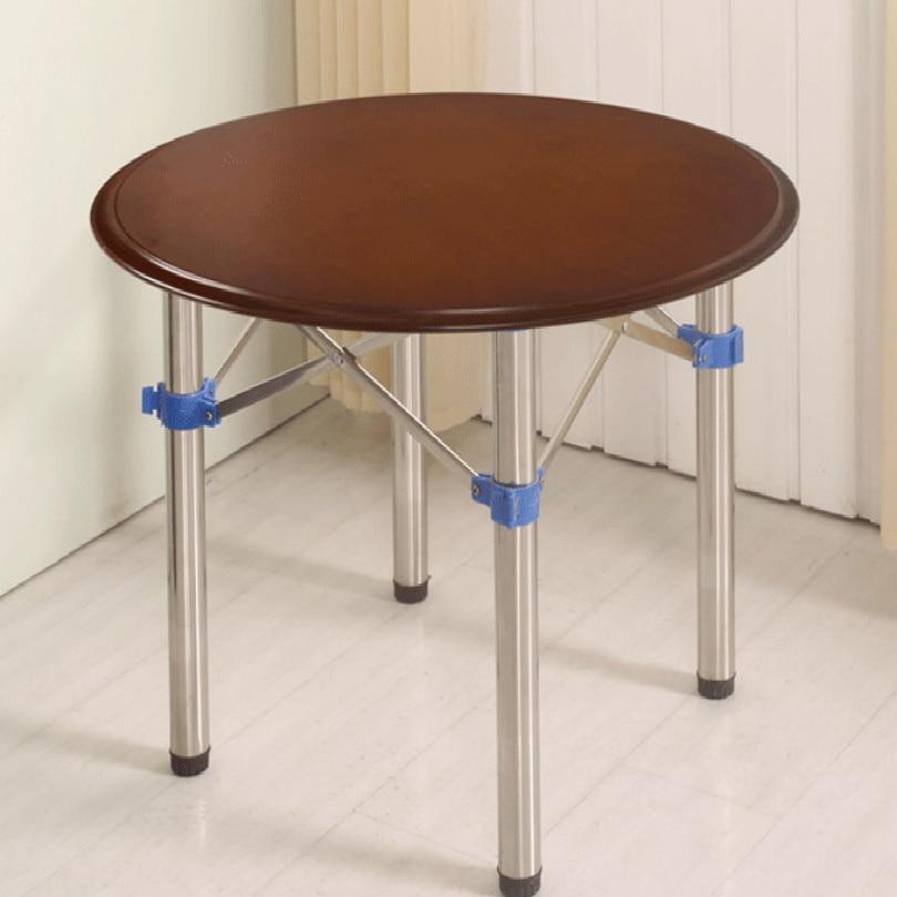 Bricolage en acier inoxydable pliant barre table rack table barre support carré 72*72*72CM rectangle 72*60*100CM livraison gratuite