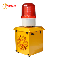 TG BX15 Rechargeable alarm siren 110dB sound and light alarm Emergency Strobe Light Beacon AC220 240V