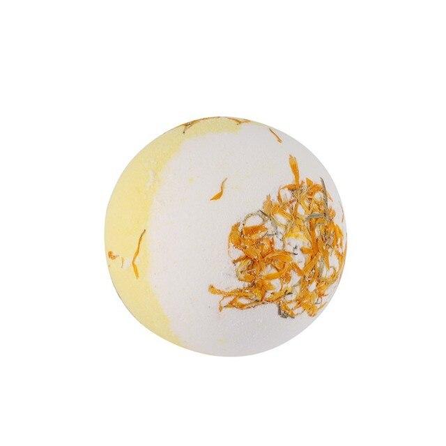 Hot Sell Dry Flower Moisturizing Bubble Bath Bomb Ball Essential Oil Bath SPA Stress Relief Exfoliating Bath Salt Bathing 5