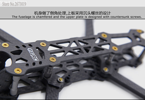 Image 4 - GEPRC Mark 4 FPV Racing Drone Frame Kit 5 /6/7 Qudcopter Frame 5mm arm met 30.5*30.5/20*20mm bevestigingsgaten voor FC