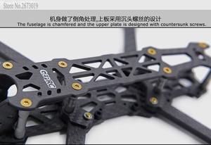 """Image 4 - Gprc mark 4 fpv que compete o braço do quadro 5mm do quadro do zangão 5 """"//6//7"""" qudcopter com furos de montagem de 30.5*30.5/20*20mm para fc"""