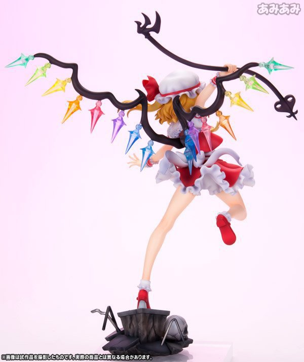 NEW hot 24cm Touhou Project Flandre Scarlet Action figure toys collection doll with box