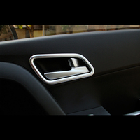 For IX25 Hyundai creta car accessories Inner door bowl cover styling interior Mouldings Styling ABS Chrome 2015/16/17/18